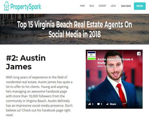 property shark Virginia beach rank real estate agent